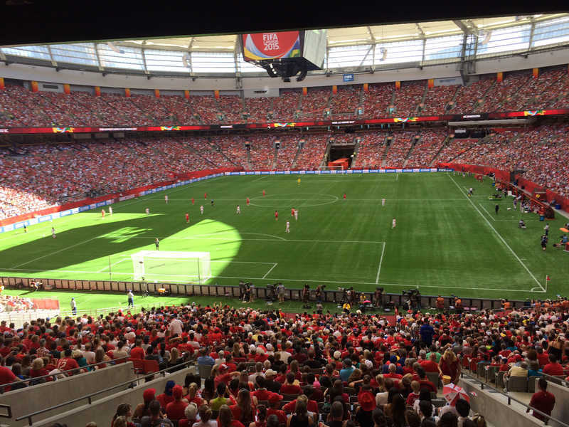 Allround Sportbodensysteme Vancouver Stadion